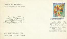 ARGENTINA, SOBRE ANIVERSARIO VUELO PLUS ULTRA - Argentina