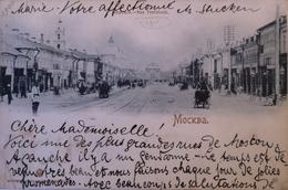 Russia // Mockba - Moscou // Rue Tverskaia // Used 1900 - Rusland