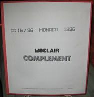 MOC - JEU MONACO MOCLAIR 1996 (Avec Pochettes) - Vordruckblätter
