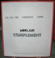 MOC - JEU MONACO MOCLAIR 1995 (Avec Pochettes) - Vordruckblätter