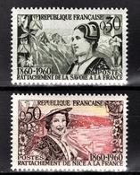 FRANCE 1960 -  SERIE Y.T. N° 1246 ET 1247  - 2 TP NEUFS** - Nuevos