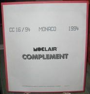 MOC - JEU MONACO MOCLAIR 1994 (Avec Pochettes) - Pré-Imprimés