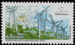 BRAZIL #3221  -  Renewable Energy - Wind Power - Windmills - Brazil