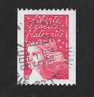 FRANCE 3418b Rouge Marianne Du 14 Juillet N)° Noir Au Verso . - France