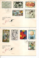Cuba - Peintures ( 5 FDC De 1967 à Voir) - FDC