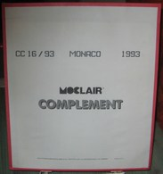 MOC - JEU MONACO MOCLAIR 1993 (Avec Pochettes) - Albums & Reliures