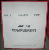 MOC - JEU MONACO MOCLAIR 1992 (Avec Pochettes) - Albums & Reliures