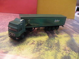 Camion MAN - Licher - 1/87  Sans Boite - Echelle 1:87