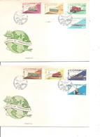Cuba - Transports ( 2 FDC De 1965 à Voir) - FDC