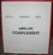 MOC - JEU MONACO MOCLAIR 1991 (Avec Pochettes) - Albums & Reliures