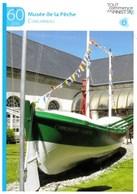 Fiche Touristique  Publicitaire Concarneau Finistère Le Musée De La Pêche  TBE - Publicité