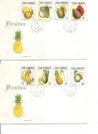 Cuba - Fruits ( 2 FDC De 1965 à Voir) - FDC