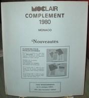 MOC - JEU MONACO MOCLAIR 1980 (Avec Pochettes) - Pré-Imprimés
