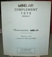 MOC - JEU MONACO MOCLAIR 1979 (Avec Pochettes) - Pré-Imprimés