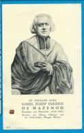 Relic   Reliquia    St. Karel Jozef Eugeen  De Mazenod - Images Religieuses