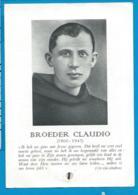 Relic   Reliquia    Beatus Broeder Claudio   Chiampo - Imágenes Religiosas