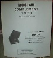 MOC - JEU MONACO MOCLAIR 1978 (Avec Pochettes) - Pré-Imprimés