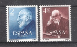 ESPAÑA 1951. RAMÓN Y CAJAL Y FERRÁN. EDIFIL Nº 1119/20 MNH** (48€) - 1951-60 Nuevos & Fijasellos