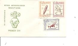 Cuba - Musée Anthopologique (  FDC De 1963 à Voir) - FDC
