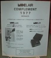 MOC - JEU MONACO MOCLAIR 1977 (Avec Pochettes) - Pré-Imprimés