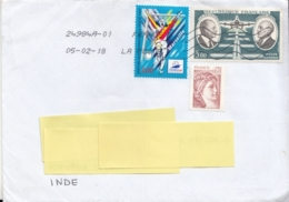 France  2018 Cover  To  India # 10019  D  Inde Indien India - France