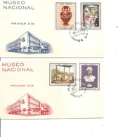 Cuba - Musée National  ( 2  FDC De 1964 à Voir) - FDC