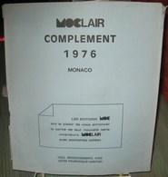 MOC - JEU MONACO MOCLAIR 1976 (Avec Pochettes) - Pré-Imprimés