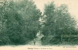 CPA - VENIZY (89) - Aspect De La Route De  Turny En 1938 - Other Municipalities