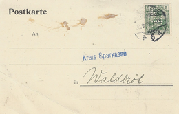1915- Postkarte  Fr. 5 Pf  PERFORE - Allemagne