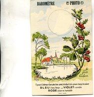 CARTE TRANSPARENTE(BAROMETRE) - Hold To Light