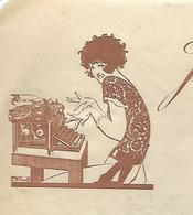 Facture 1923 / 54 NANCY / Machines à écrire John UNDERWOOD & Cie - France