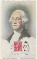 Carte Maximum -  George Washington - United States