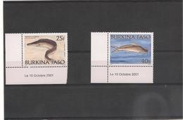BURKINA FASO  Faune Poissons Année 2001** - Burkina Faso (1984-...)