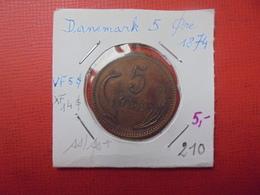 DANEMARK 5 ÖRE 1874 (A.5) - Denmark