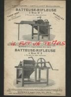 18--/ JARVILLE NANCY / KUHN Et FLEICHEL - Batteuse Rifleuse - 1800 – 1899
