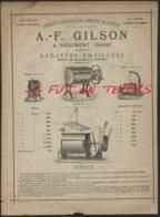 18--/ HAUMONT / A. F. GILSON - Spécialiste D'Installations Complètes De Laiterie - Barattes Emaillées - Frankrijk