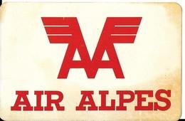 Autocollant - AIR ALPES - 12 X 8 Cm - Pegatinas