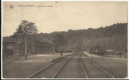 HAM-sur-HEURE - La Gare Et Le Tunnel 1925 - Ham-sur-Heure-Nalinnes