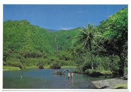 Polynésie Française Cascade De Vaiharuru Dans Le District De Hitia - Polynésie Française