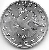 *hungaria 10 Filler 1992   Km 675    Bu/ms65 - Hongrie