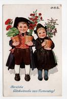 - CPA ILLUSTRATEURS - Herzliche Glückwünsche Zum Mamenstagl - Serie T. S. N. 1558 - - Illustrateurs & Photographes