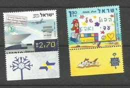 Israël N°1725, 1726 Neufs** Cote 3.35 Euros - Israel