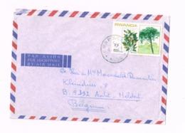 Lettre De Rwamagana à Aalst (Belgique) - Rwanda