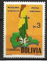 Bolivia - 1981 Revolution Anniversary 3b MNH **  Sc 658 - Bolivia