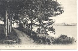 80- DINARD . LA VICOMTE - LE CHEMIN DE RONDE . CARTE NON ECRITE - Dinard