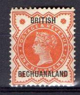 BECHUANALAND ( POSTE ) : Y&T  N° 10  TIMBRE  NEUF  AVEC  TRACE  DE  CHARNIERE . - 1885-1895 Colonie Britannique
