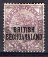 BECHUANALAND ( POSTE ) : Y&T  N° 31  TIMBRE  BIEN  OBLITERE . - 1885-1895 Colonie Britannique