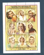 TOGO Année 1997 Hommage à Marilyn MONROE N° Y/T : 1575/83** Côte : 13,75 € - Togo (1960-...)