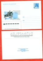 Belarus 2001.International Competitions In Equestrian Sport. Jumping.The Envelope With Printed Stamp. - Jumping