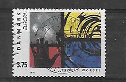Dänemark 1993  Europa: Zeitgenössische Kunst  Gestempelt - Dänemark
